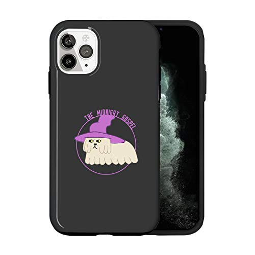Sconosciuto iPhone 12 Mini Case, The Dog Midnight Hat Gospel TV036_2 Case for iPhone 12 Mini Protective Phone Cover, Abstract Funny Gorgeous [Double-Layer, Hard PC + Silicone, Drop Tested]