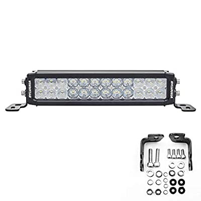 SYLVANIA - Ultra 10 Inch LED Light Bar - Lifetime Limited Warranty - Combo Beam Light 4650 Raw Lumens, Off Road Driving Work Light, Truck, Car, Boat, ATV, UTV, SUV, 4x4 (1 PC)