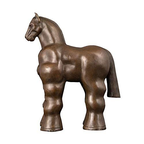 FUYIO Escultura de Fernando Botero Bronce Contemporáneo - Escultura de Estatua de Caballo de Bronce
