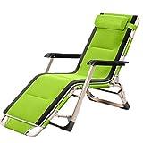 AZHLUF Tumbona Plegable Silla de Jardín sillas Playa Sillas Camping Ajustable Reposacabezas, para Jardín, Piscina, Playa, Picnic, Oficina
