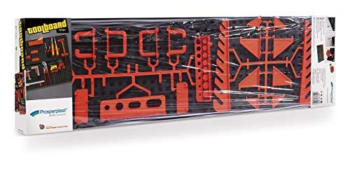 ZANVIC Werkzeugwand, Plastik, Multi, 80 x 8 cm