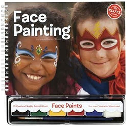 Klutz K443061 Face Painting Book Kit by Klutz