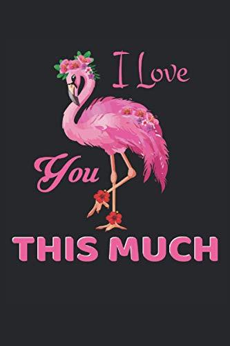 Cuaderno: flamenco, flamencos, paradise ave, pájaro rosado,: 120 páginas rayadas: cuaderno, cuaderno de bocetos, diario, lista de tareas pendientes, ... para planificar, organizar y tomar notas.