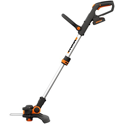 WORX WG163E 18V (20V MAX) Cordless Grass Trimmer with Command Feed and 2...