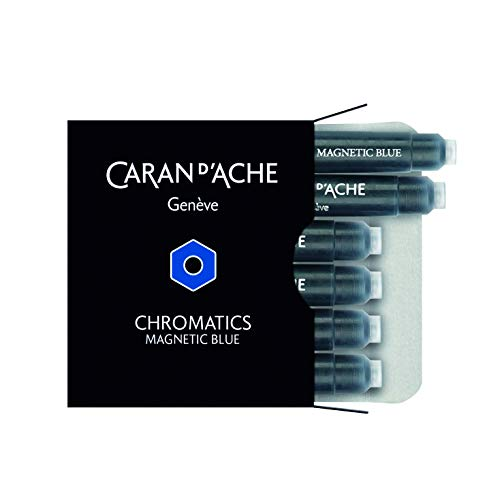 Caran d´Ache 8021.149 Tintenpatrone Magnetic Blue 6 Stück