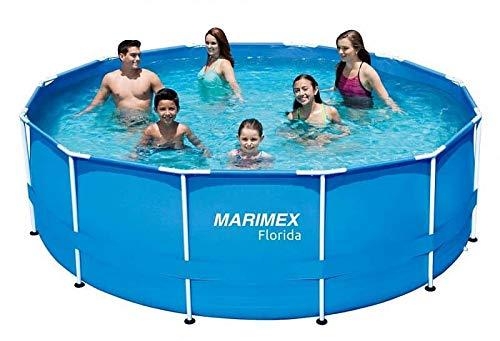 Marimex Florida Swimmingpool, Stahlwandpool für Garten ohne Zubehör, 3,66 x 1,22 m