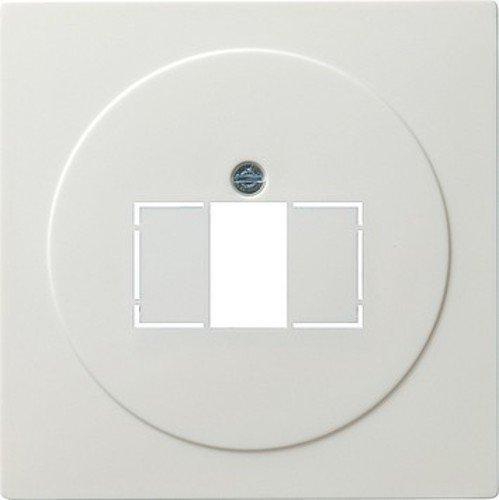 Gira 027640 afdekking TAE met stereo en USB S, zuiver wit