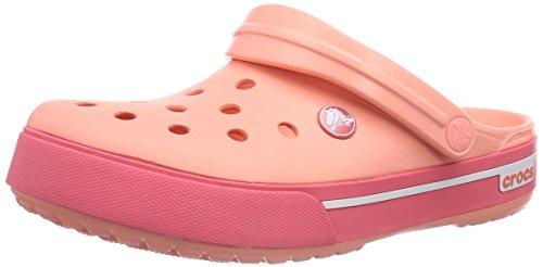 Crocs Crocs Cband2.5Clog, Unisex-Erwachsene Clogs, Pink (Melon/Coral 6IZ), 42/43 EU (M9/W11 US)