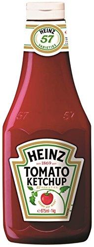 Heinz Tomato Ketchuo Ml 875 [8 botellas]