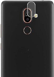 Vaxson 2-pack filmskydd, kompatibel med Nokia 7 Plus bakre kameralinsskydd shotscen klistermärke [INTE härdat glas skärmsk...