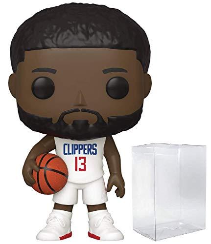 Paul George LA Clippers #57 POP! Sports NBA figura de acción (cubierta con protector de pop para proteger la caja de la pantalla)