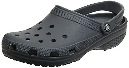 Crocs Classic Clog Unisex Adulta Zuecos, Gris (Slate Grey), 45/46 EU