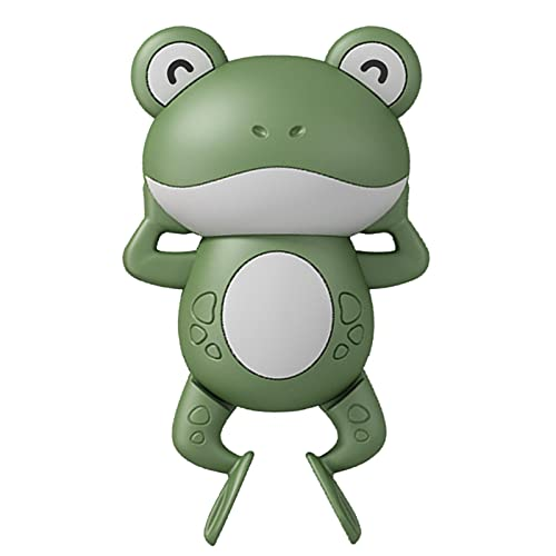 pologyase Bath Swimming Animal Toys Frog Toy Bathtub Toys For Kids Plastic Safety Materials Attractive Design Encourage Independent Play The Gifts For Toddlers Suitable For Over Two Years Old