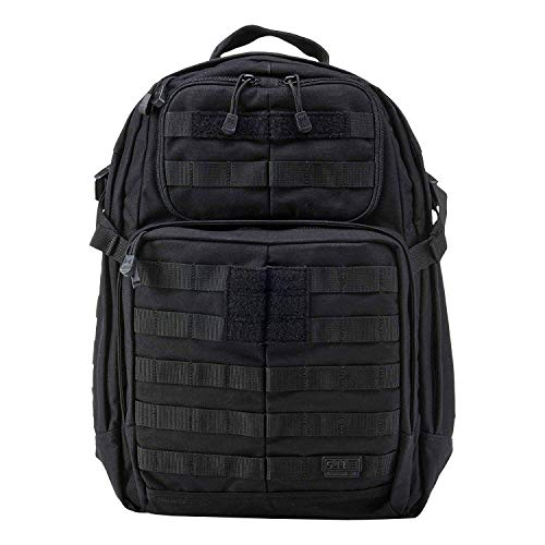 5.11 RUSH24 Tactical Backpack, Medium, Style 58601, Black