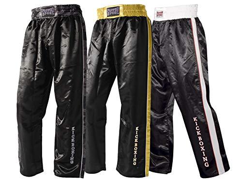 Paffen Sport Kick Star Kickboxhose – schwarz/weiß/rot – Größe: L