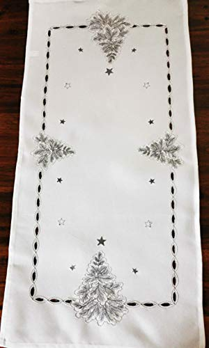 T&K 19K84-3 - Mantel navideño (40 x 90 cm)