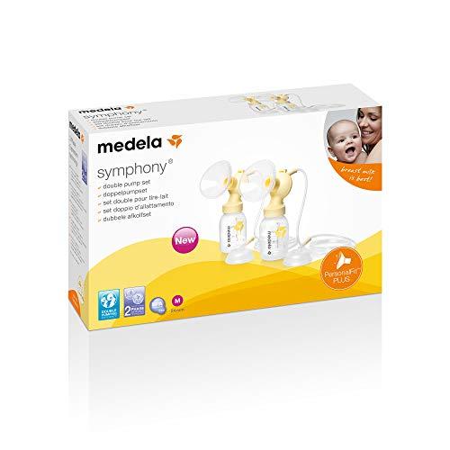 Medela Symphony PersonalFit Plus - Juego de pmp doble, tallas S/M/L (M)