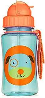 Skip Hop Forget Me Not Kid Straw Bottle, Darby Dog
