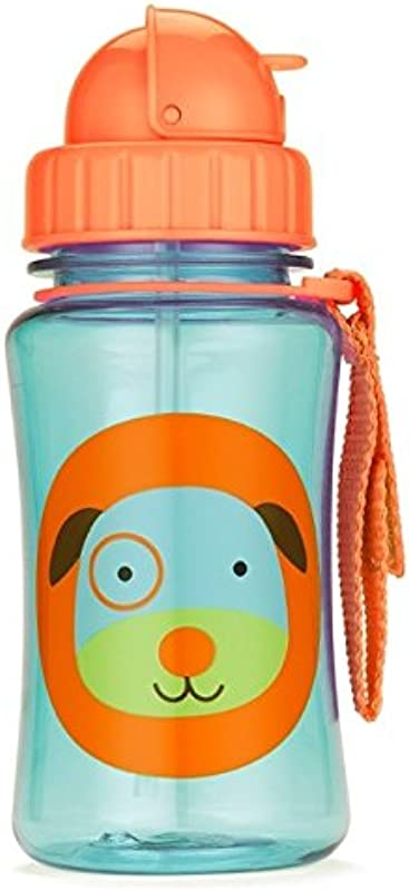Skip Hop Straw Cup Toddler Transition Sippy Cup Dog