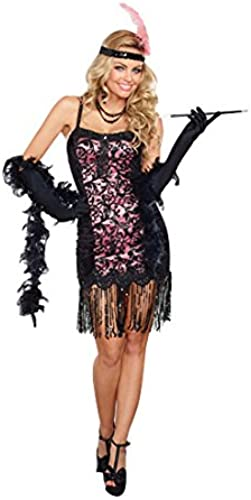 Dreamgirl 10212Cotton Club Cucravate Costume (Petite Taille)