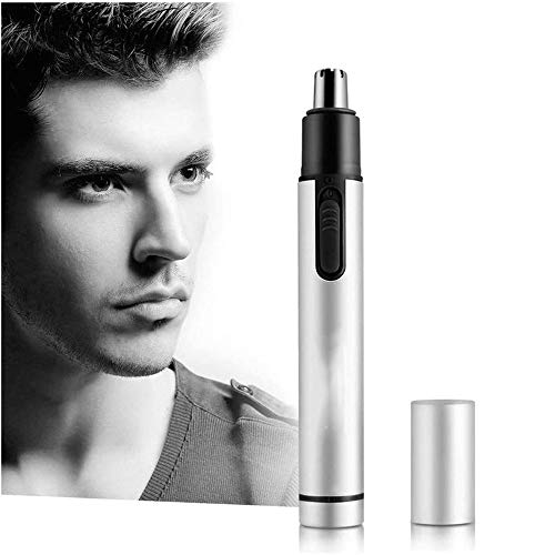 RedIightRoad Ear and Nose Hair Trimmer Clipper for Men Women, USB Rechargeable Professional Electric Eyebrow and Facial Hair Trimmer with Waterproof Head Double
