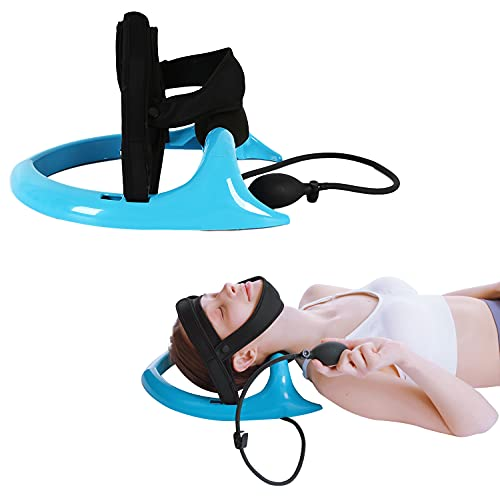 Posture Neck Exercising Cervical Spine Hydrator Pump, Relief for Stiffness, Relieves Neck Pain, Neck Curve Restorer
