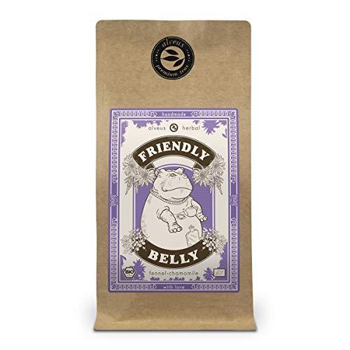 Fenchel Anis Kümmel Tee Bio Lose | Kräutertee ohne Aroma Friendly Belly | Beruhigung für den Magen | Produkt aus Deutschland | 100 Gramm Tüte von alveus Herbal