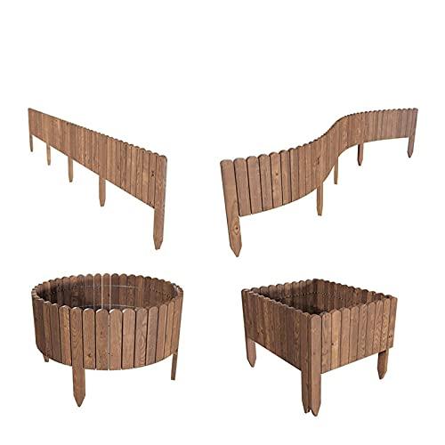 Recinzione del giardino Recinzione legno roll roll bordo fai da te giardino decorativo giardino...