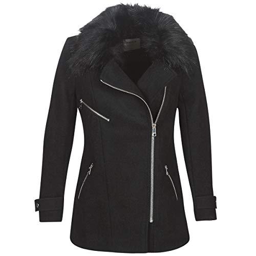 only ONLCAROL mantel vrouwen zwart mantel - - X-Small