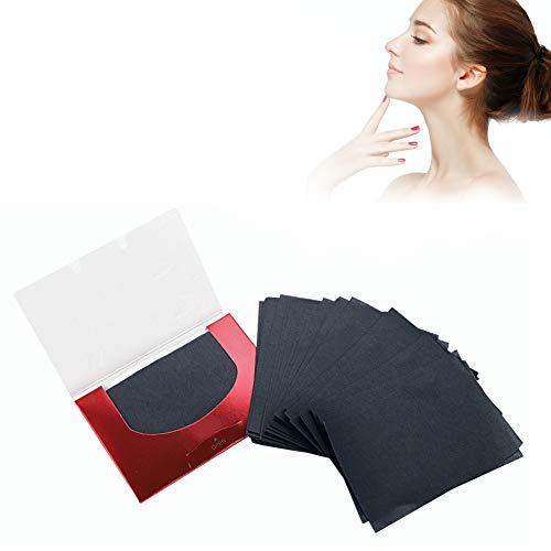 Puderpapier, Tragbares Make-up Papier Ölabsorptionsblatt Gesichtsreinigung Werkzeug, Ölkontrolle Papier für fettige Haut, Make-up Muss Film, 90 Teile/Paket