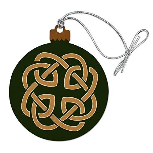 GRAPHICS & MORE Celtic Knot Love Eternity Wood Christmas Tree Holiday Ornament