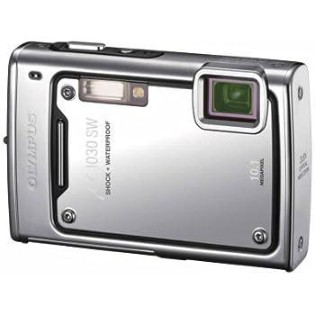 OLYMPUS 防水デジタルカメラ μ1030SW (ミュー) メタルシルバー μ1030SW SLV