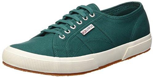 Superga Unisex-Erwachsene Classic Sneaker Low-Top 2750 Cotu Classic, Grün (Green Teal), 39 (Herstellergröße: 5.5)