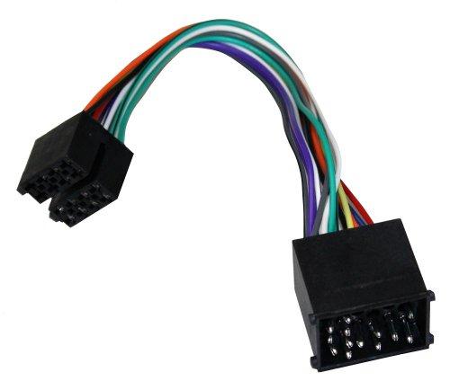 Aerzetix-ISO B2 Convertitore Cavo Adattatore Radio ISO Cavo Adattatore Jack connettore per BMW (Conforme)