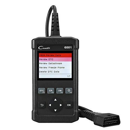 Price comparison product image Launch OBD2 Scanner Creader 6001 Full OBDII / EOBD Code Reader Scan Tool for O2 Sensor Test