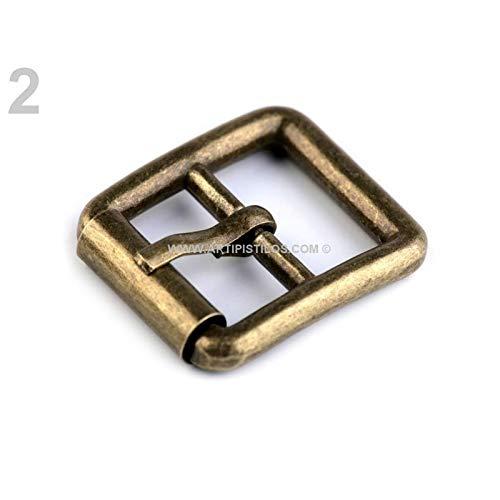 Artipistilos Metal Buckle 30 X 32 Mm - 30 X 32 Mm, Brass - Elastic Rubber & Belt Buckles