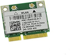 R4GW0 - WiFi Card Broadcom BCM943142HM; DW1704 Mini PCI-E 802.11b/g/n; Bluetooth Inspiron 17R (7720)