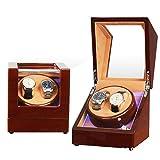 XYSQ Lujo Caja Giratorias para Relojes Automaticos, Watch Winder Exhibición De Almacenamiento De Reloj Giratorio para 2 Reloj Exhibición (Color : F)