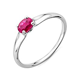 Miore Jewellery in white gold adds elegance, giving emphasis to all the stones embedded within the jewellery Ruby, July's birthstone, has a fiery red colour that gives the perfect positive energy to your Miore jewellery Each piece of Miore jewellery ...