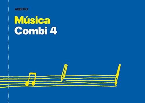 Additio Combi 4 – Cuaderno de música, color azul ✅