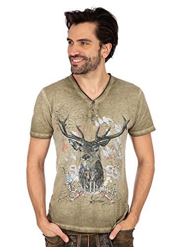 Stockerpoint Herren Günther T-Shirt, Sand, 2XL