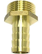 Homyl koperen buiskoppelingsconnector - slangadapter (Mannelijke draad) DN25 10-19mm Dia- massief dn25x19mm