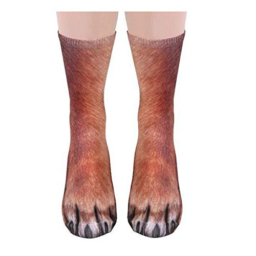 MeiPing Calcetines animales 3D Unisexo Socks Calcetines