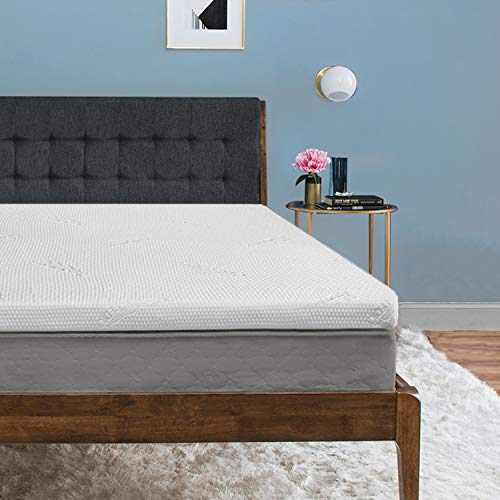 TEMPUR ProForm Supreme 3-Inch Queen Mattress Topper, Medium Firm