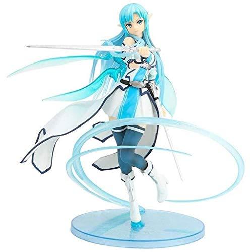Sao Asunayuuki Anime Figura de acción Espada Arte en línea Modelo de carácter Modelo Coleccionable Estatuajes Juguetes PVC Figuras Adornos de escritorio