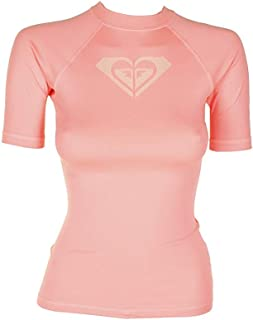 Roxy Women's Whole Hearted Short Sleeve Rash Guard
