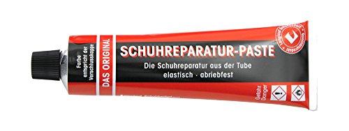 Langlauf Schuhbedarf Reparaturpaste für Schuhe und Sohlenreparatur (schwarzbraun)