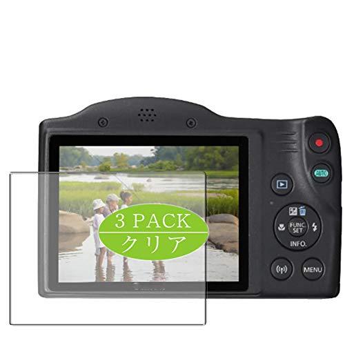 Vaxson - Pellicola protettiva per display compatibile con Canon PowerShot SX430 IS, pellicola protettiva HD, non in vetro temperato, confezione da 3