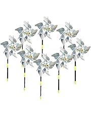 Bird Pinwheel Reflecterende Repellent Pinwheels Sparkly Spinner voor Garden Decor Bird Repellent Devices Deterrent 8 Packs Tuingereedschap