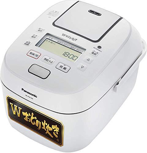 パナソニック 炊飯器 5.5合 可変圧力IH式 Wおどり炊き ホワイト SR-PW109-W
